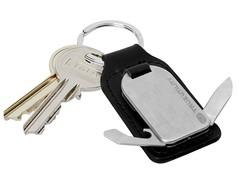 Брелок мультитул для ключей True Utility Leather FobTool Black