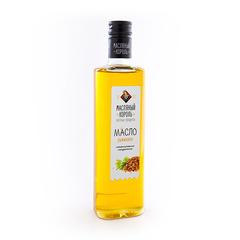 Масляный король масло рыжиковое стеклянная бутылка 0,35 л