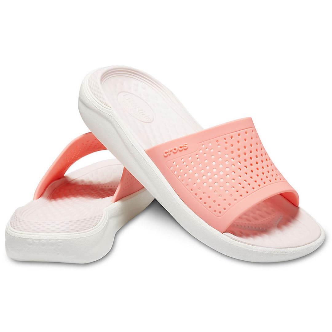 Шлепанцы CROCS LiteRide Slide Melon White