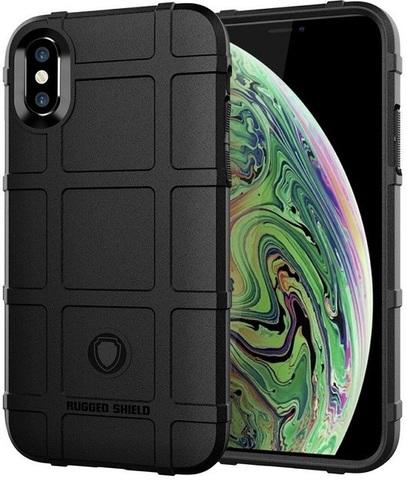 Чехол для iPhone XS Max цвет Black (черный), серия Armor от Caseport