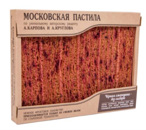 Московская пастила Черная смородина (Карпов и Круглов), без сахара, 85 г