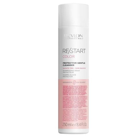 REVLON Restart Color: Шампунь для нежного очищения окрашенных волос (Protective Gentle Cleanser), 250мл/1л