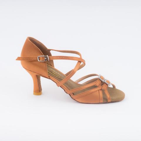 Туфли для латины с регулировкой полноты стопы
