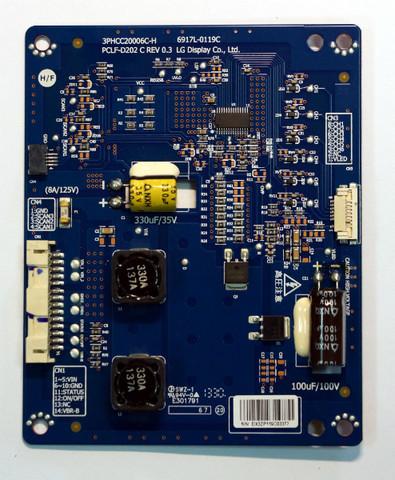 Плата 3PHCC20006C-H  6917L-0119C  PCLF-D202 C rev 0.3