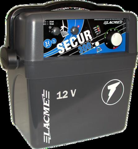Генератор электропастуха SECUR 300  от аккумуляторной батареи  - 150 км - 4,0-3,0 Дж