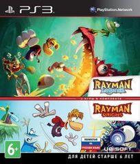 Rayman Legends + Rayman Origins Комплект (PS3, русская версия)