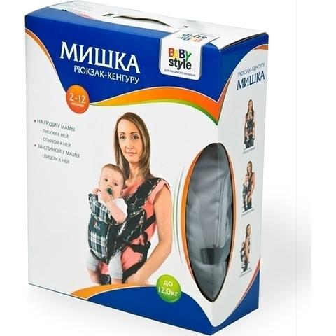 Рюкзак-кенгуру мишка