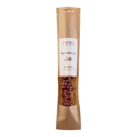Чурчхела вишневая с грецким орехом мини без сахара (1шт)
