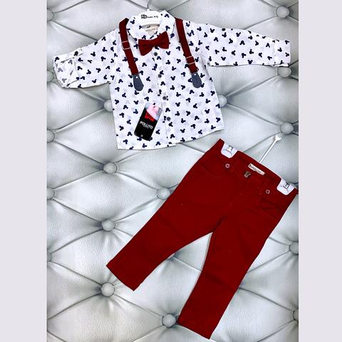 Костюм хлопок мальчику (1-5) 201118-Н2057