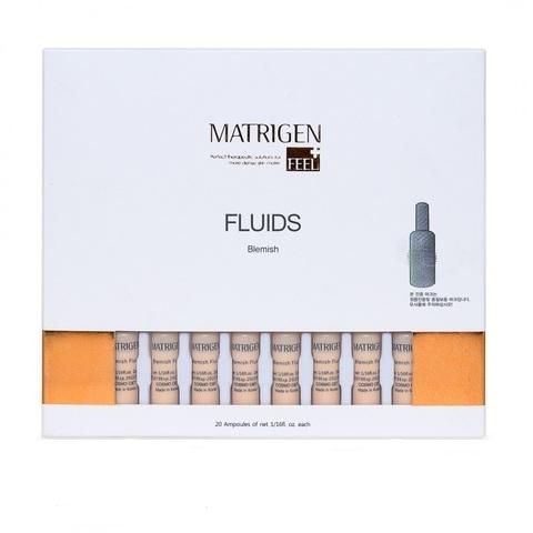 Сыворотки Matrigen Blemich Fluids (BB сыворотка) 1 коробка 20 ампул по 2 мл.