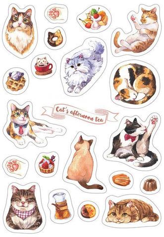 Печать на сахарной бумаге, Набор Кошки 1