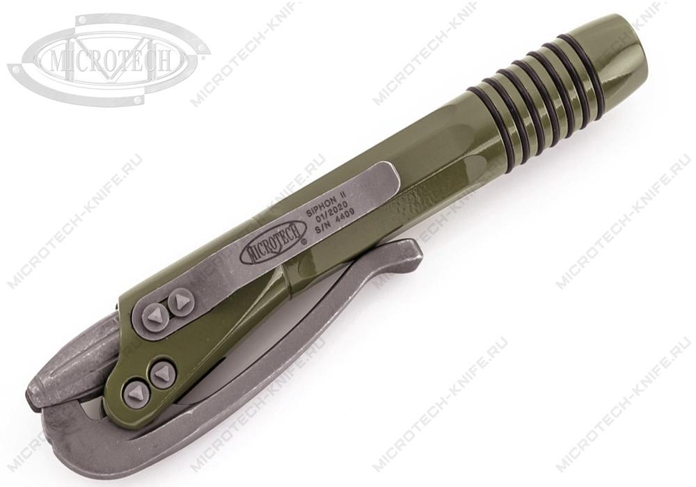 Тактическая ручка Microtech SIPHON II 401-SS-ODAP - фотография