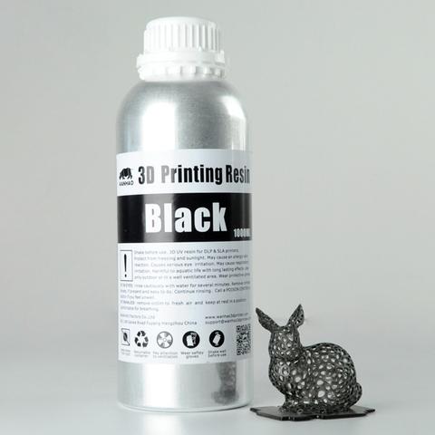 Фотополимер Wanhao Standard Resin, чёрный (1 л)
