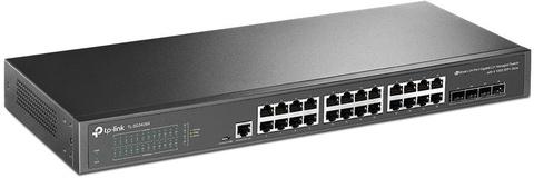 Коммутатор TP-Link TL-SG3428X 24G 4SFP+ управляемый