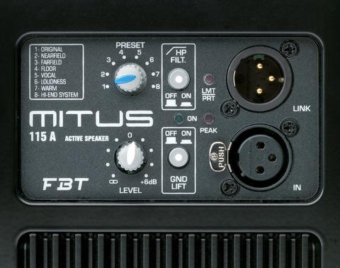 Акустические системы активные FBT Mitus 115A