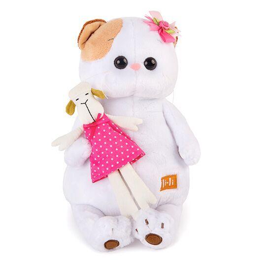 Кошечка Ли-Ли с овечкой