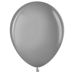 МЛ 5'' Серебро (801), металлик, 100 шт.