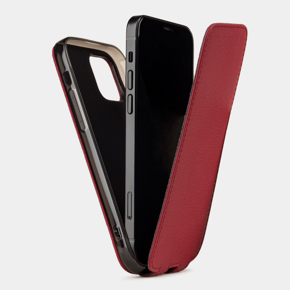 Case for iPhone 12 mini - red cherry