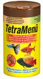 Тетра TETRA Menu корм для тропических рыб, мелкие хлопья, 4 вида, 250 мл (767393)