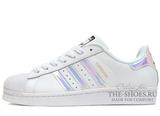 Кроссовки Женские Adidas SuperStar White Magic