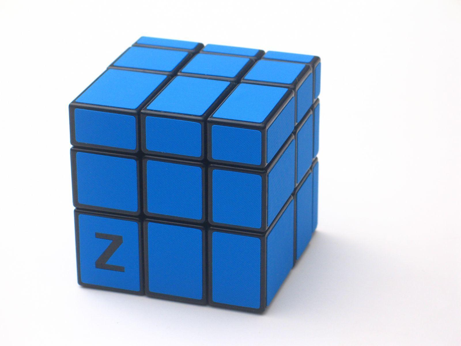 Z-Cube 3x3x3 Зеркальный куб Синий