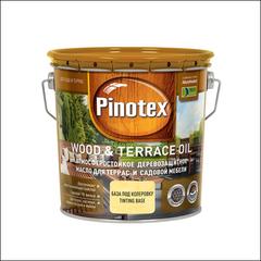 Масло для защиты садовой мебели и террас Pinotex WOOD & TERRACE OIL (тик)
