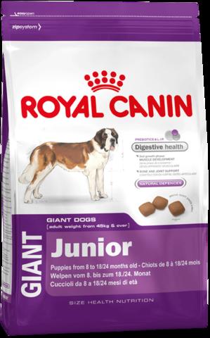 Royal Canin Giant Junior 17 кг (бридерский пакет)