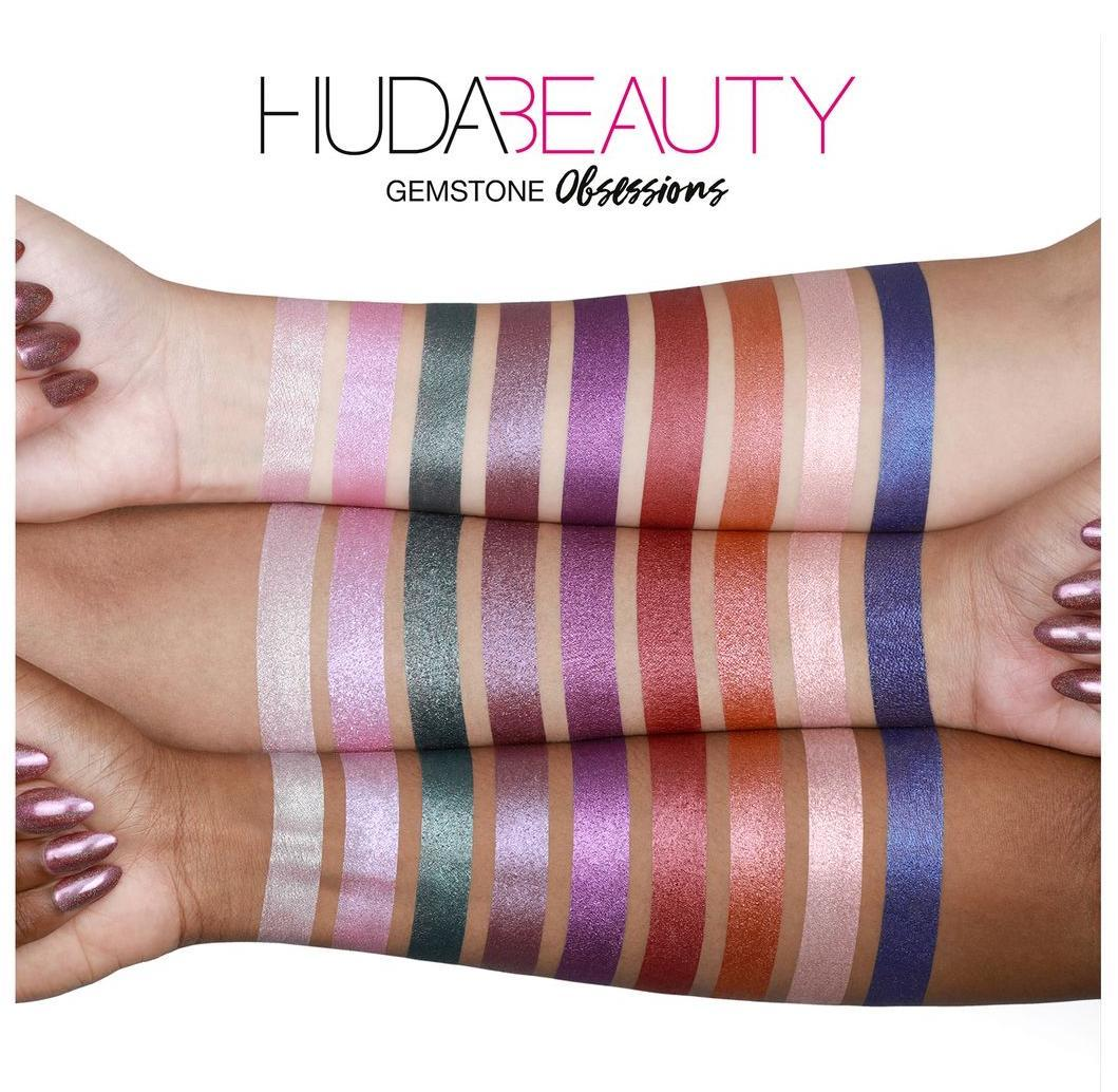 HUDA BEAUTY Obsessions Gemstone палетка теней