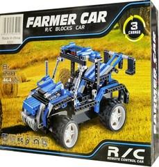Конструктор Blocks 6501 Машина фермера на радиоуправлении 3 в 1