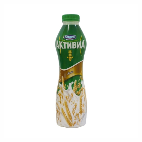 Йогурт питьевой АКТИВИЯ Злаки 690 гр Danone РОССИЯ