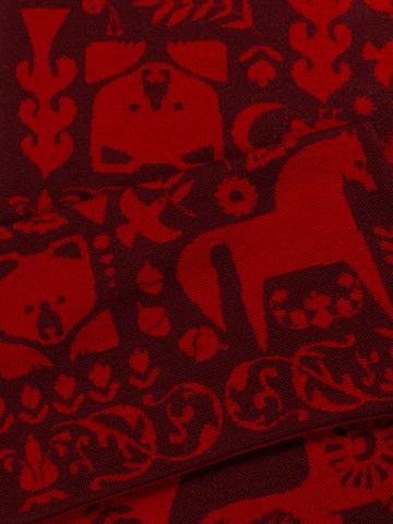 Красная Горка – бордовые тона № 6.2 (Без бахромы)
