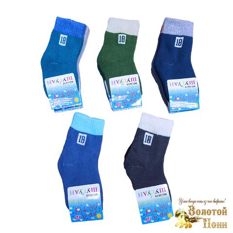 Носки махровые детские (1-12) 201107-Р8037