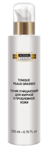 Очищающий тоник для жирной и проблемной кожи, Tonique peaux grasses et problematiques, Kosmoteros (Космотерос), 200/400 мл