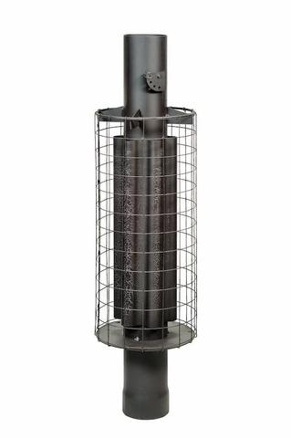 Дымоход - конвектор D115мм L1м.