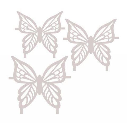 Трафарет для шоколада №1706 - Бабочка