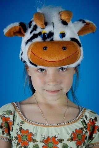 Карнавальная шапочка Коровы