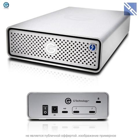 Внешний HDD G-Technology 4TB G-DRIVE Thunderbolt 3 + USB-C