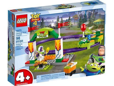 LEGO Toy Story: Карнавальные американские горки 10771 — Carnival Thrill Coaster — Лего История игрушек Той стори