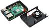 Корпус для Raspberry Pi 4 (LT-4A01 / пластик / чёрный)