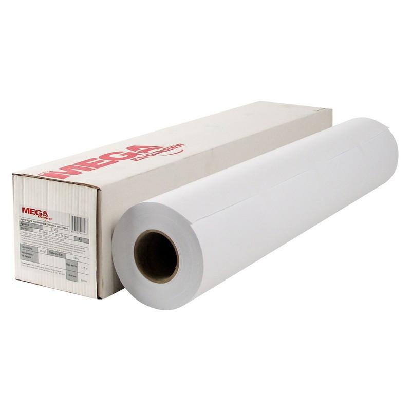 Бумага широкоформатная ProMEGA engineer InkJet 70г 841ммх175 76мм