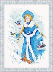 Набор для вышивания Riolis Снегурочка