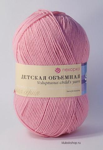 Пряжа Детская объемная (Пехорка) 76 Розовый бутон, фото