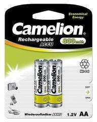 Аккумуляторы CAMELION R 6/2bl 800 mAh Ni-CD