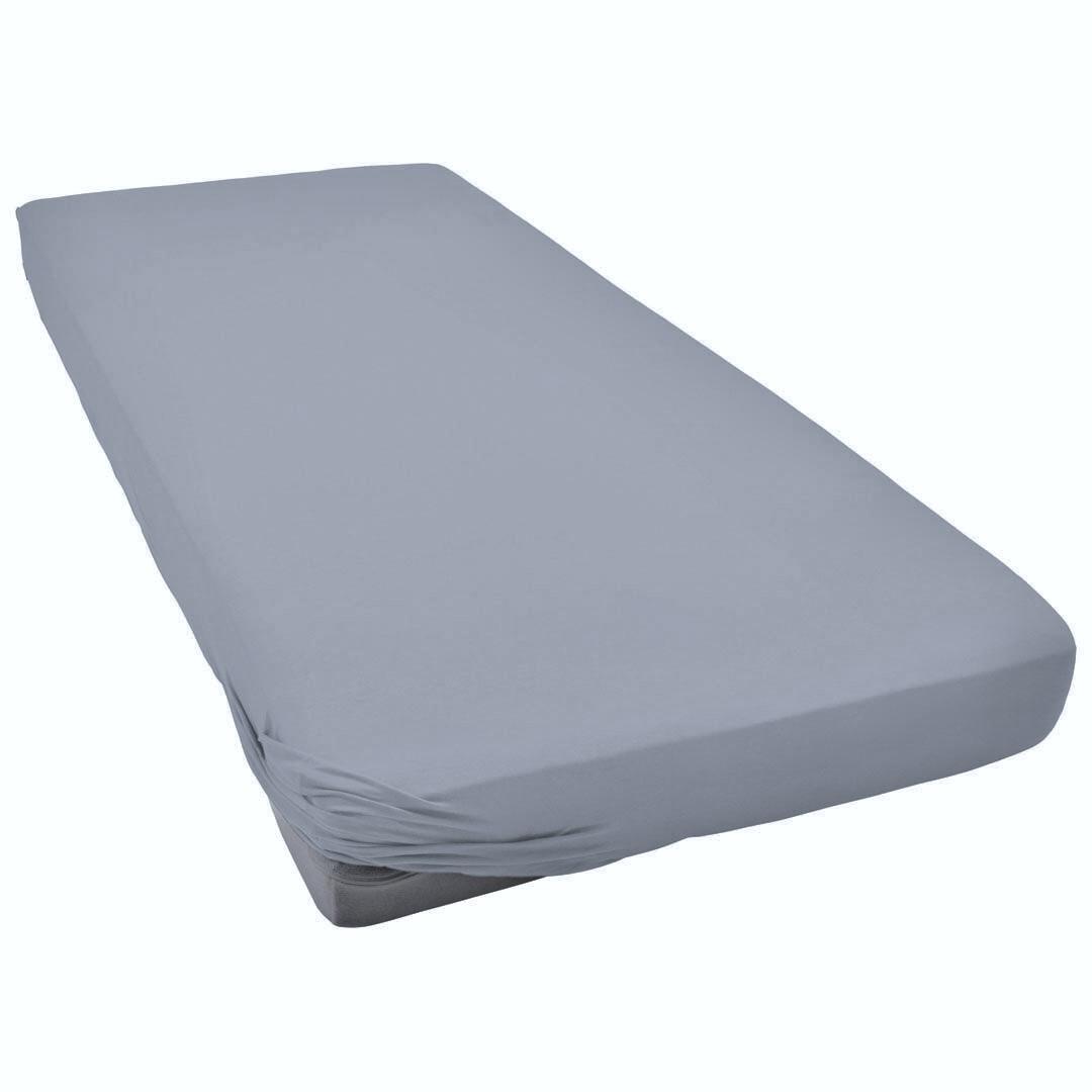 TUTTI FRUTTI серый - Двуспальная простыня на резинке