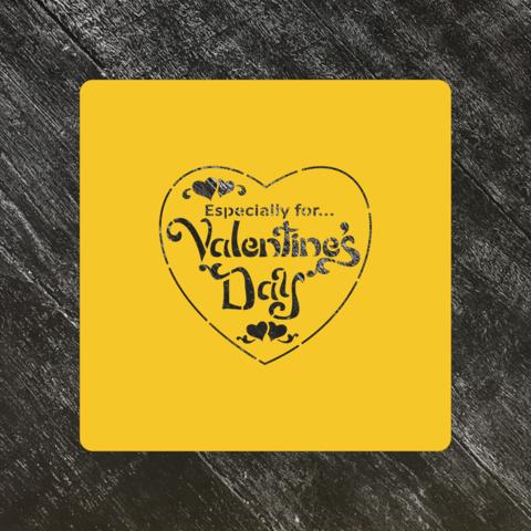 Трафарет любовь №32 Сердце день Святого Валентина