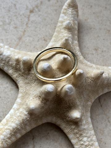 Кольцо Бревити, позолота