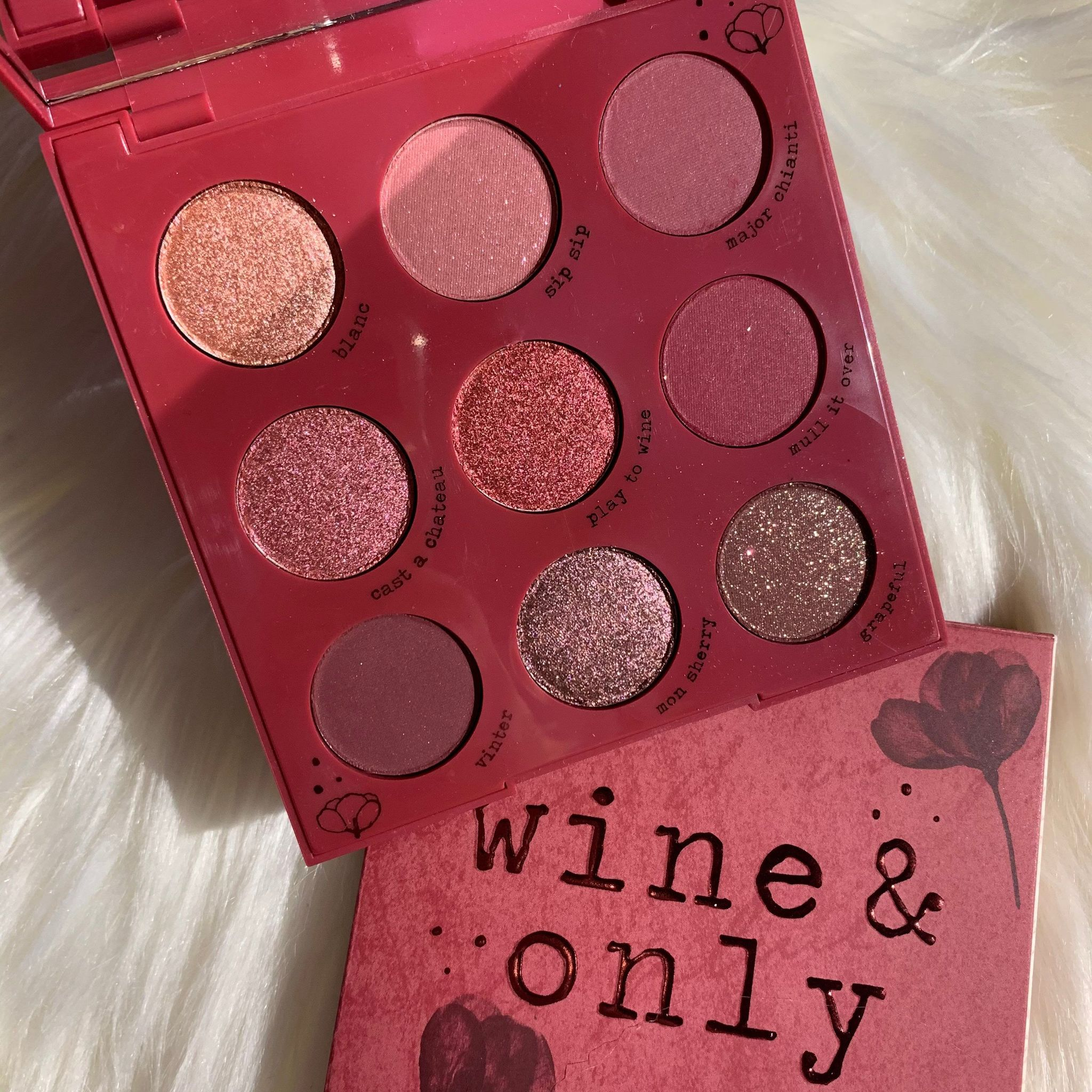 ColourPop Wine & Only palette