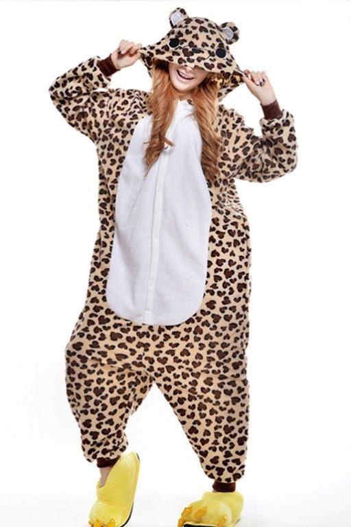 Плюшевые пижамы Леопард взрослый 2967fe6f.jpg