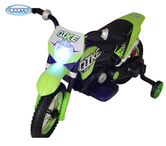 Электромотоцикл  BARTY CROSS  YM68 зеленый