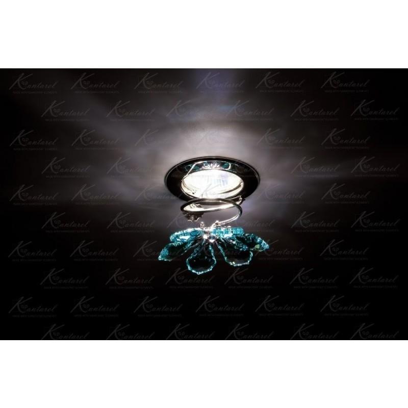 Встраиваемый светильник Kantarel BLOSSOM CD 015.3.1/3 ant green